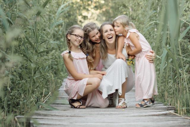 Séance photo en famille extérieur