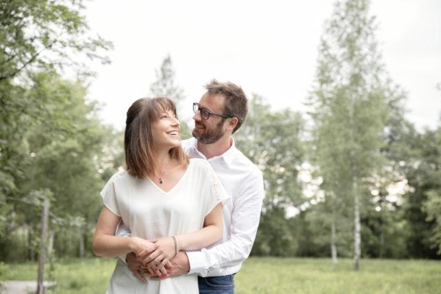 photo de couple extérieur