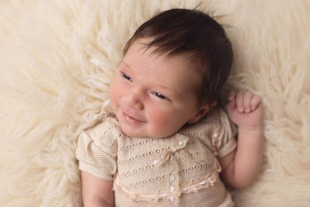 sourire nouveau-né
