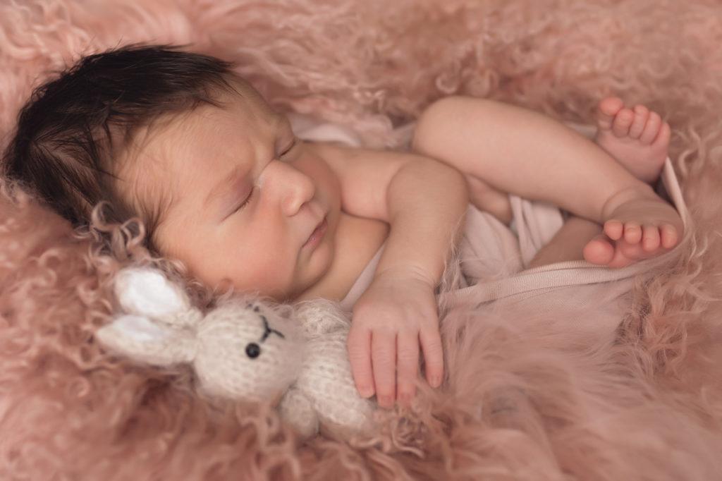 photographie bébé peau douce