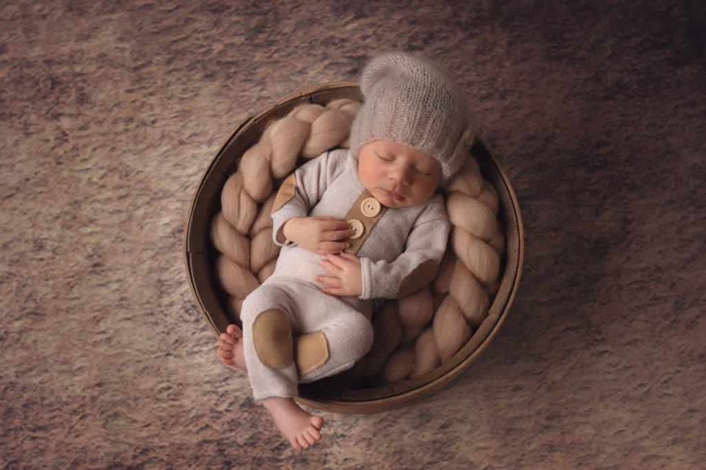 photo de bébé par delphine lin photographie
