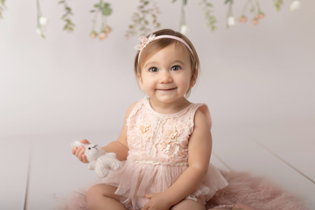 Séance bébé assis 1 an