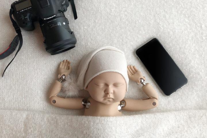 Prendre en photo bébé